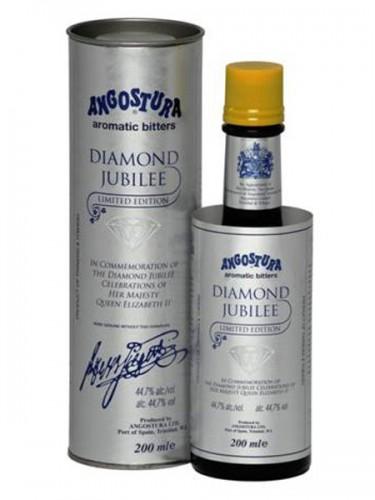 Angosturra Bitters' Diamond Jubilee packaging