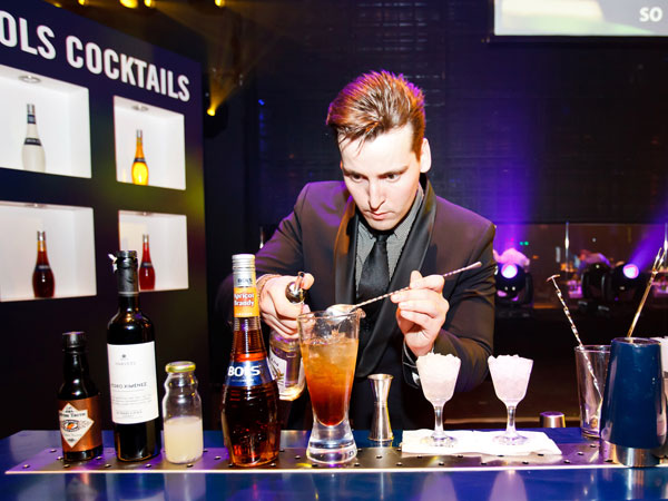 Hungarian bartender Gabor Onufer wins the Bols World Bartending Championship