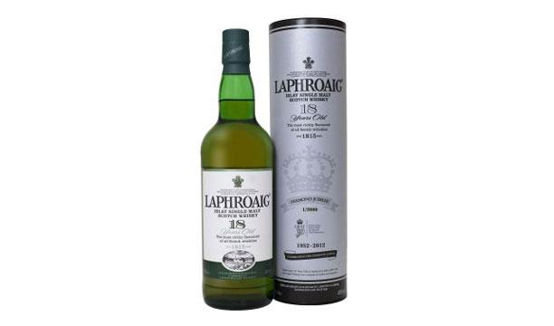Laphroaig Whisky 18YO for Diamond Jubilee
