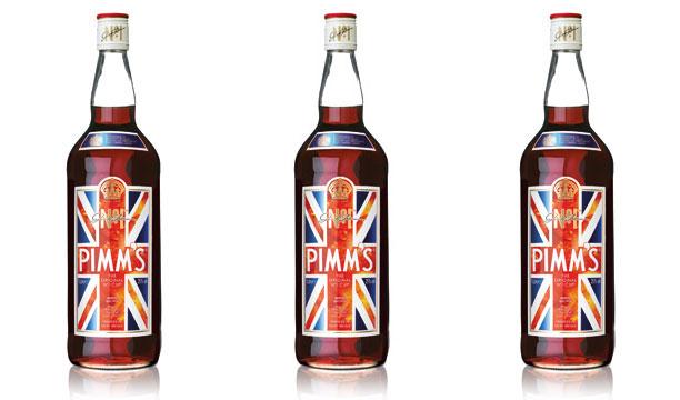 Pimm's Diamond Jubilee design