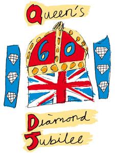 Ofiicial Diamond Jubilee logo