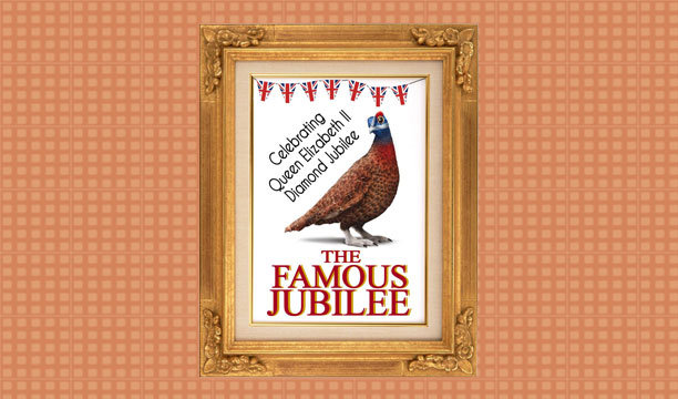 The Famous Grouse Diamond Jubilee poster