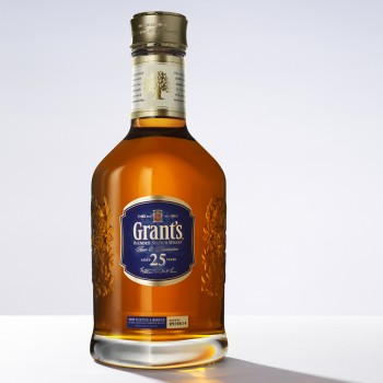 Grant's ultra premium 25 yr old blend now available outside GTR