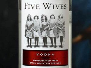 Idaho Five Wives Vodka