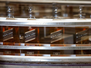 Johnnie Walker Black Label Scotch whisky production