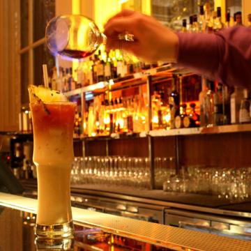 Bonds bar Flame cocktail London Olympics