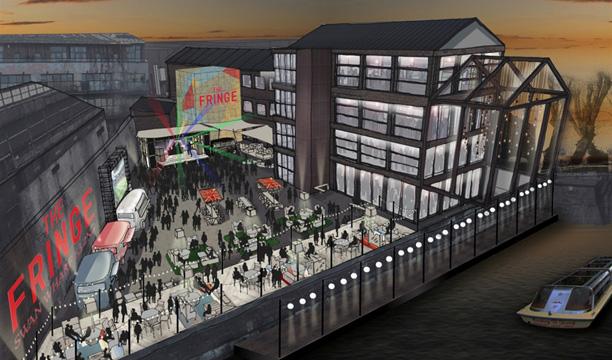 The Fringe bar Swan Wharf London Olympics