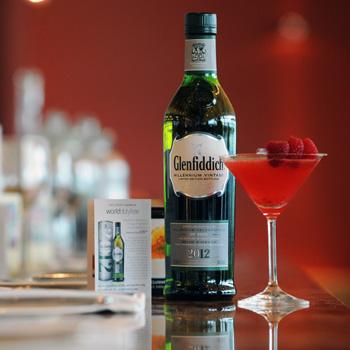 Glenfiddich Millennium cocktail at Gordon Ramsay Plane Food