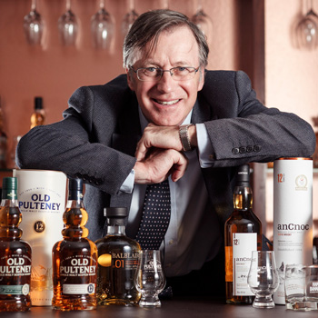 Graham Stevenson, managing director of Inver House Distillers