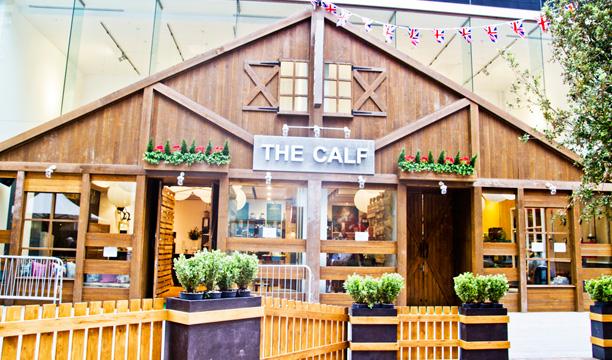 The Calf bar at Westfield Stratford London Olympics