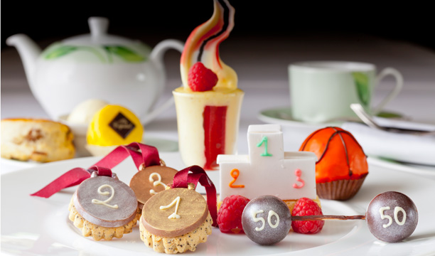 Afternoon Tea at The Capital Hotel London Olympics