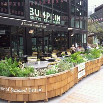 Bumpkin bar London Olympics cocktails
