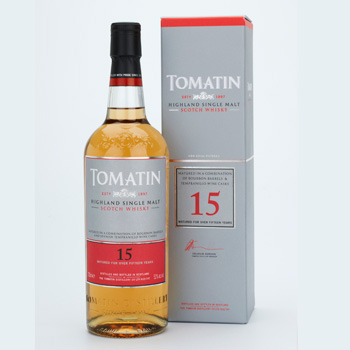 Tomatin 15-year old single malt whisky