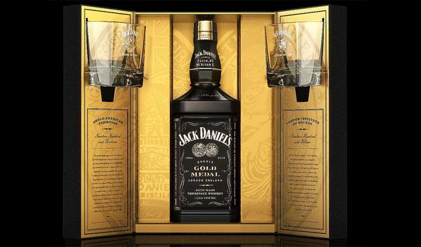 Jack Daniel's Limited Edition Gold Medal pack