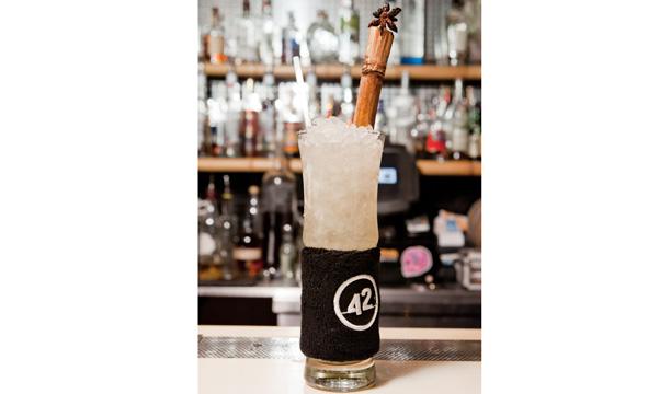 Dan Redman-Hubley's Silent Duck 42BELOW cocktail