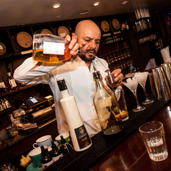 Hennessy Fine de Cognac with tea