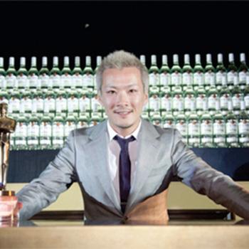 Shingo Gokan Bacardi Legacy 2012 Cocktail Competition winner