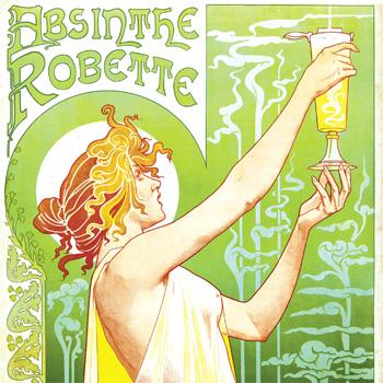 Absinthe poster Absinthe Robette
