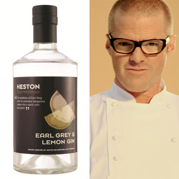 Heston from Waitrose Earl Grey and Lemon Gin