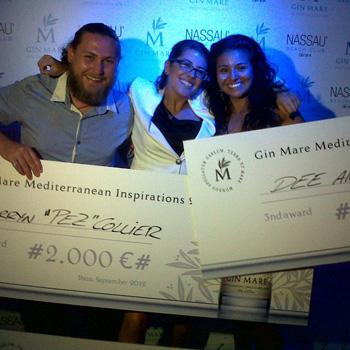 Gin Mare Mediterranean Inspirations winners