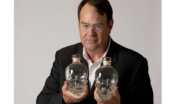 Dan Ackroyd Crystal Head Vodka