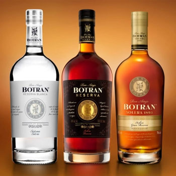 Botran rums Botran Reserva Blanca