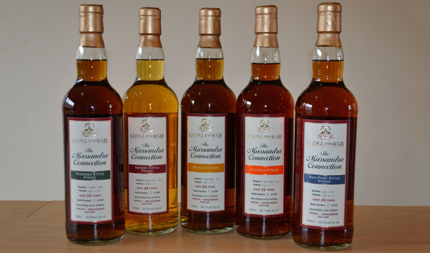 Glenglassaugh Massandra Collection
