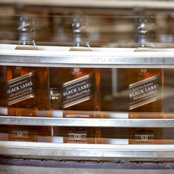 Johnnie Walker Scotch whisky Exports