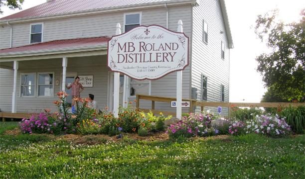 MB Roland Distillery Kentucky Bourbon Trail Craft Tour