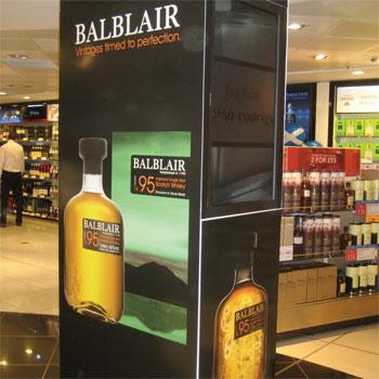 Balblair Scotch whisky travel retail