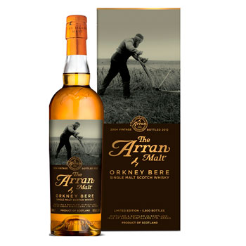 Arran Malt Orkney Bere Scotch whisky