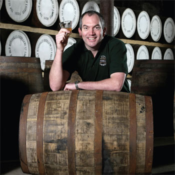 Colum Egan Bushmills master distiller
