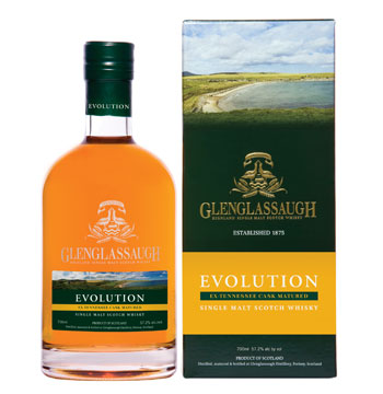 Evolution Glenglassaugh Scotch whisky