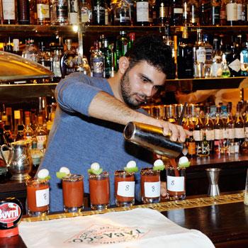 Marco Piroli Tabasco Bloody Mary Challenge
