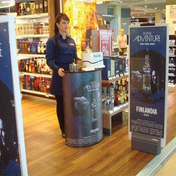 finlandia vodka travel retail