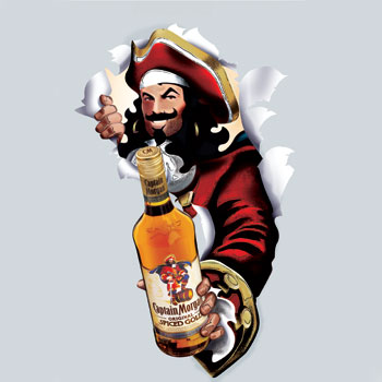 Captain Morgan 10m cases