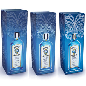 Bombay Sapphire light up gift pack