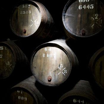 Scotch malt whisky barrels ageing