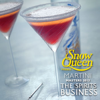 Snow Queen Martini Masters