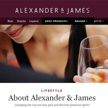 Alexander and James Diageo