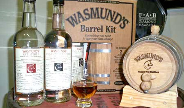 Wasmunds Copper Fox age your own whiskey