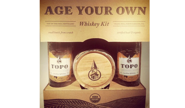 Top of the Hill age your own whiskey