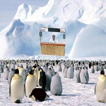 Ian Burrell Antarctica rum shack