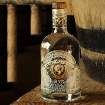 George Washington unaged rye