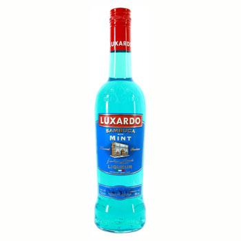 Luxardo sambuca with mint