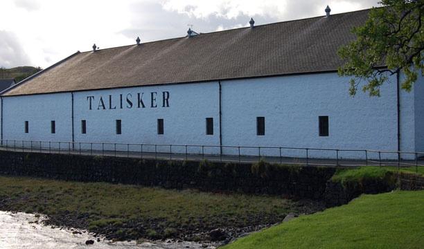 Talisker distillery on the Isle of Skye