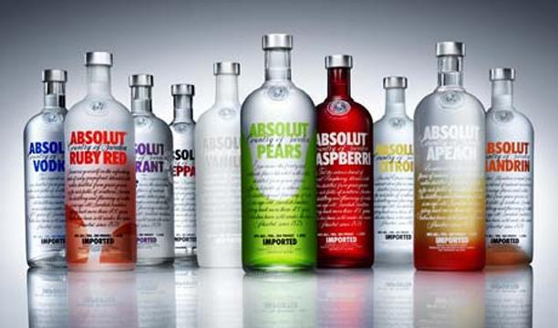 Absolut Worlds largest vodka brands