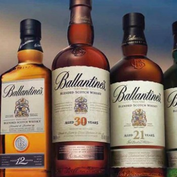 Ballantines World's largest Scotch whisky brands