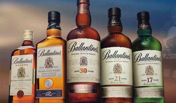 Ballantines World's largest Scotch whisky brands