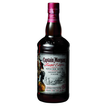 Captain Morgan Sherry Oak Finish Spiced rum will only be available in the US